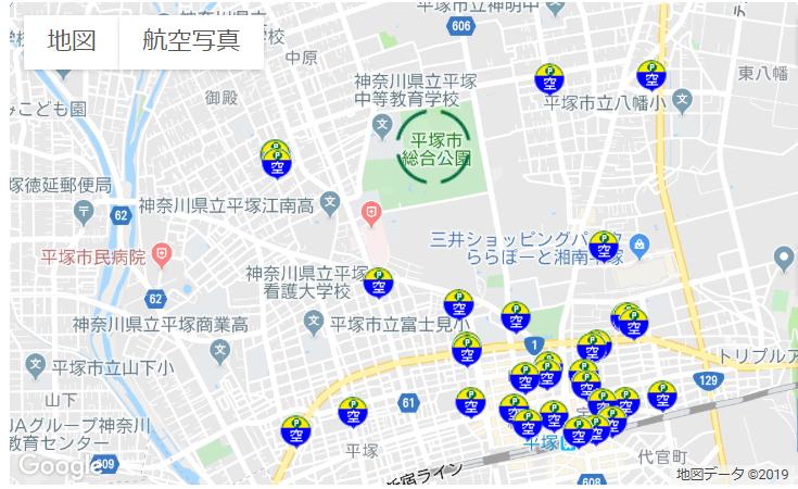 ShonanBMWスタジアム平塚周辺駐車場