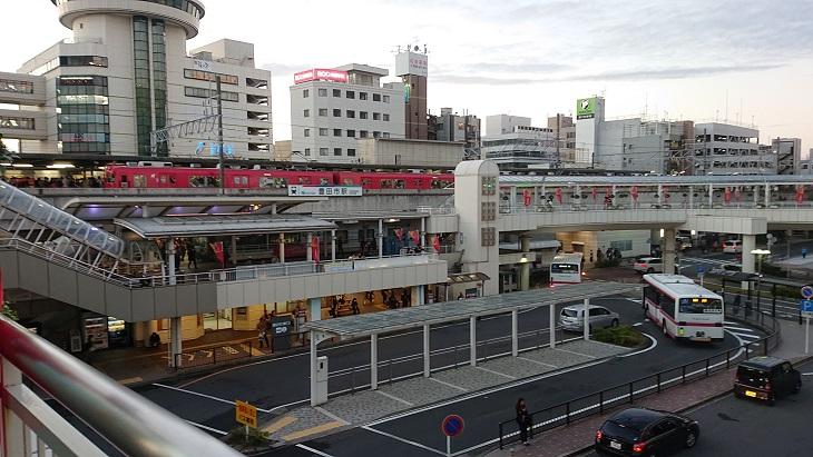 豊田市駅周辺駐車場